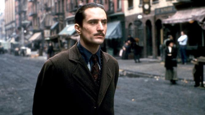Robert De Niro in 'Godfather Part II'