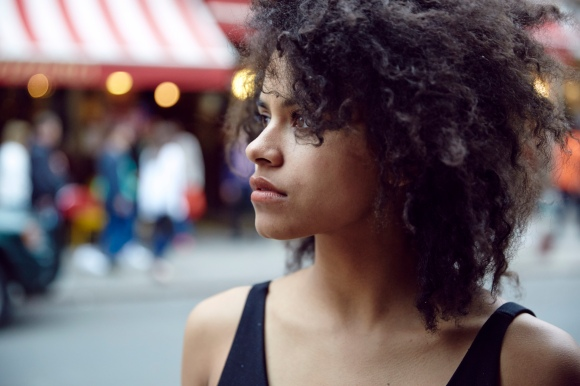 The wonderful Zazie Beetz plays Van in 'Atlanta', the main characters on-and-off girlfriend.