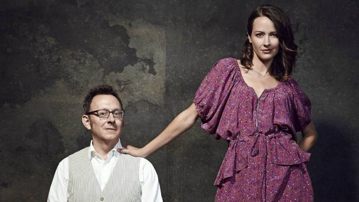 Michael Emerson and Amy Acker