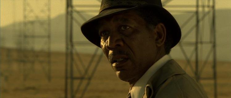 Morgan Freeman in 'Seven'