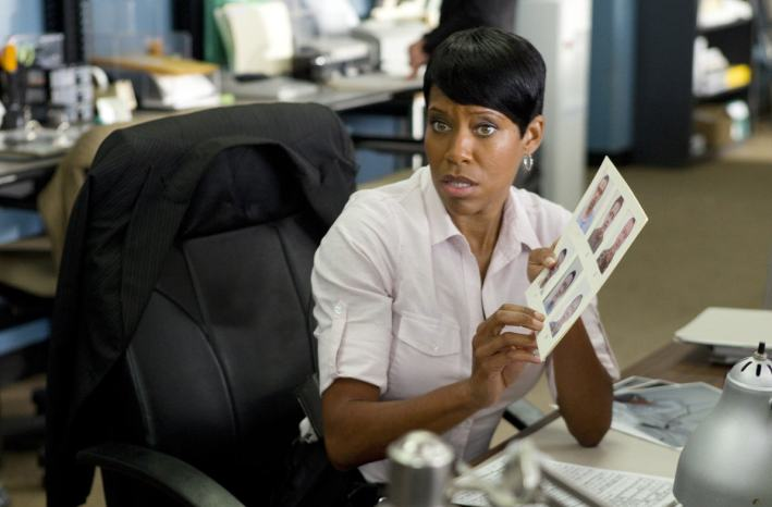 Regina King as Detective Lydia Adams in 'Southland'