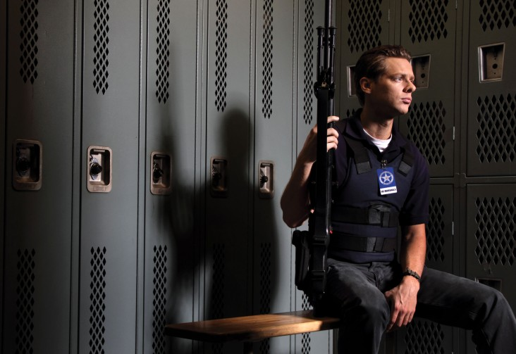 Jacob Pitts as the mysterious and oddly funny U.S. Marshal Tim Gutterson