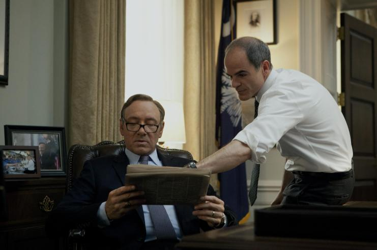 Michael Kelly important both for Kevin Spacey's character and the TV show itself in 'House of Cards'