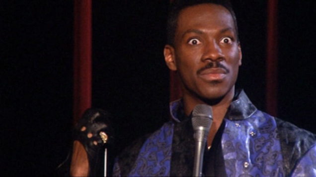 Eddie Murphy from his second stand up show, 'Raw'.