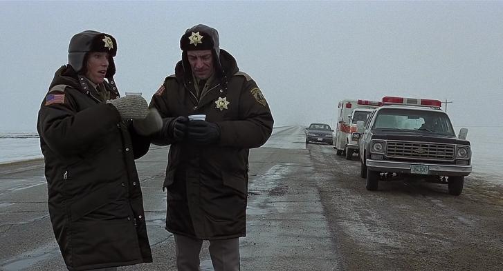 Frances McDormand as Marge Gunderson in 'Fargo'